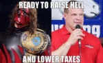 Ready To Raise Hell And Lower Taxes