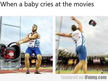 When A Baby Cries At The Movies...