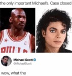The Only Important Michael's. Case Closed...