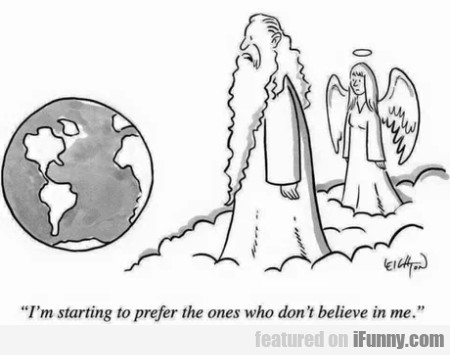 I'm Starting To Prefer The Ones Who Don't...