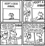 Adopt A Dead Animal. I'd Like To Adopt...