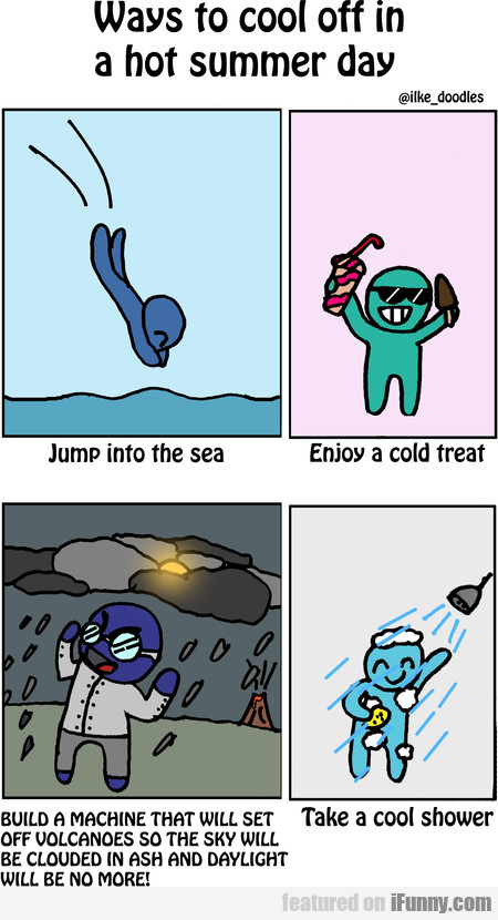 Ways To Cool Off In A Hot Summer Day