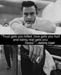 Trust Gets You Killed, Love Gets You Hurt..