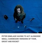 Peter Dinklage Having To Act Alongside Small...