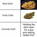 Real Gold - Fools Gold - Comedy Gold