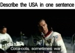 Describe The Usa In One Sentence - Coca-cola