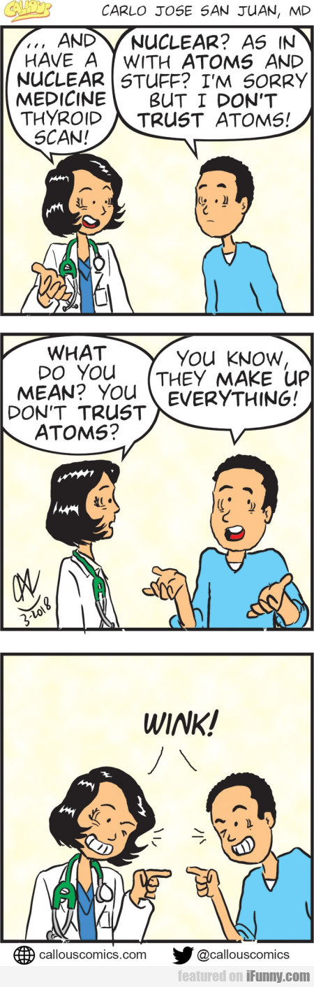 ... And Have A Nuclear Medicine Thyroid Scan!