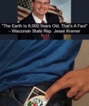 The Earth Is 6000 Years Old, That's A Fact...