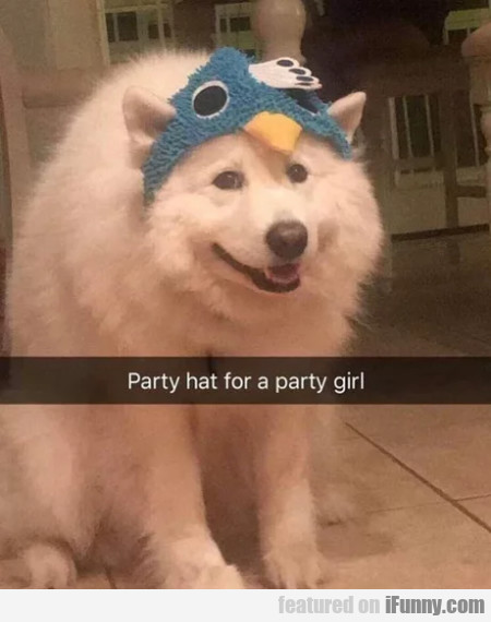 Party Hat For A Party Girl