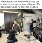 We Pranked The Pa Into Thinking The House Duster..
