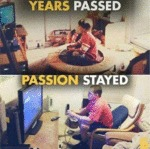 Years Passed - Passion Stayed