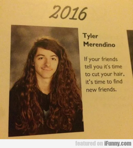 Tyler Merendino - If You Friends Tell You It's...