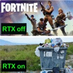 Fortnite - Rtx Off - Rtx On