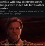 Netflix Will Now Interrupt Series Binges With...
