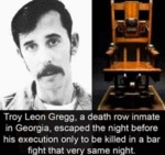 Troy Leon Gregg, A Death Row Inmate In Georgia...