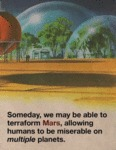 Someday, We May Be Able To Terraform Mars...