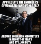 Appreciate The Engineers Of Voyager 1 And...
