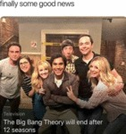 Finally Some Good News - The Big Bang Theory...