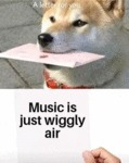 A Letter For You - Music Is Just Wiggly Air...