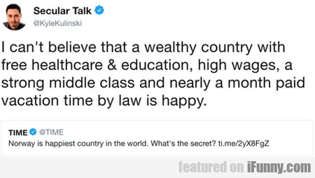 I Can't Believe That A Wealthy Country With Free..