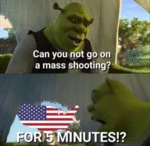 Can You Not Go On A Mass Shooting - For 5...