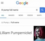 Lil Pump Full Name - Lilliam Pumpernickel