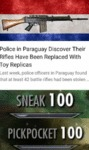 Police In Paraguay Discover Their Rifles Have...