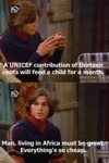 A Unicef Contribution Of Thirttteen Cents Will...
