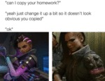 Can I Copy Your Homework - Yeah Just Change...