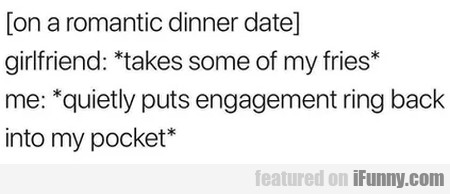 On A Romantic Dinner Date - Girlfriend - Takes...