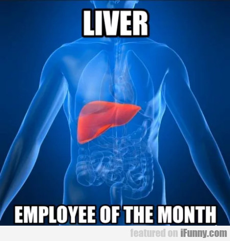 Liver - Employee Of The Month
