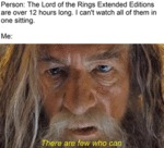 Person - The Lord Of The Rings Extended Editions..
