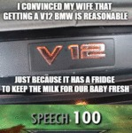 I Convinced My Wife That Getting A V12 Bmw Is...