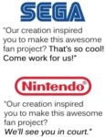 Sega - Our Creation Inspired You To Make This....