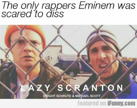The Only Rappers Eminem Was Scared To...