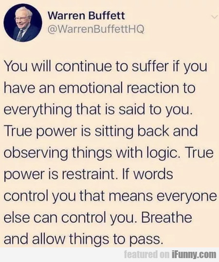 You Will Continue To Suffer If You Have An...