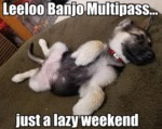 Leeloo Banjo Multipass... Just A Lazy Weekend...