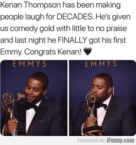 Kenan Thompson has been making people laugh...