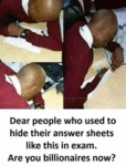 Dear People Who Used To Hide Their Answer...
