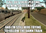Y'all Out There Playing The New Spiderman Game....