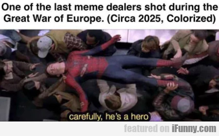 One Of The Last Meme Dealers Shot During The...