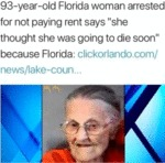 93-year-old Florida Woman Arrested For Not...