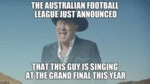 The Australian Football League Just Announced...
