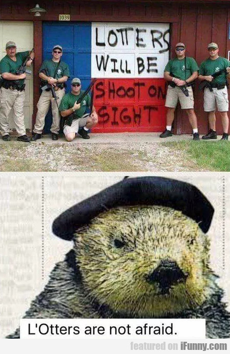 L'otters Are Not Afraid