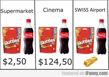 Supermarket - Cinema - Swiss Airport