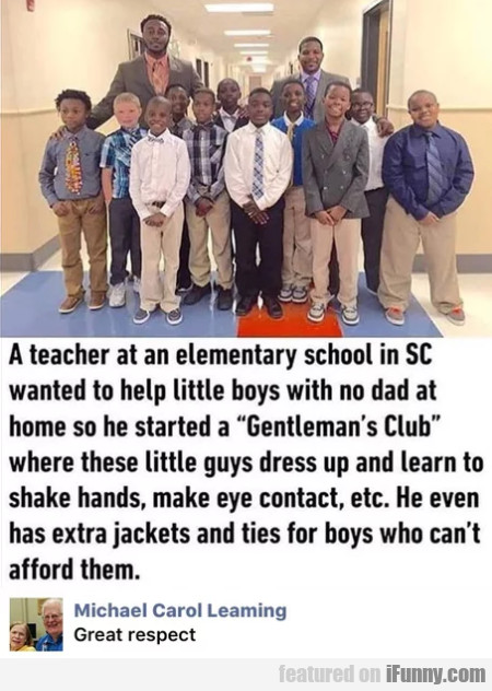 A Teacher At An Elementary School In Sc Wanted...
