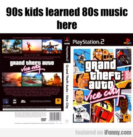 90s Kids Learned 80s Music Here