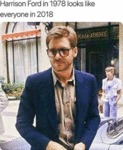 Harrison Ford In 1978 Looks Like Everyone In...