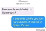 How Much Would A Trip To Spain Cost?