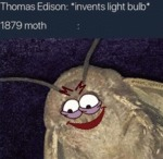 Thomas Edison - Invents Light Bulb - 1879...